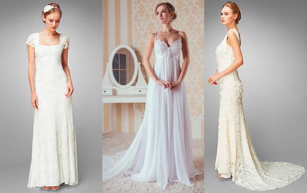 свадебные платья в стиле ампир 2