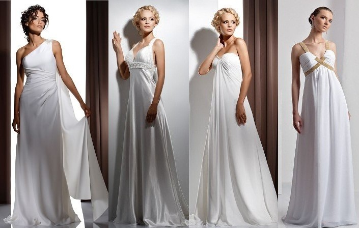 свадебные платья в греческом стиле 1