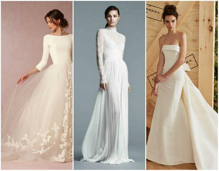лучшие свадебные платья весна-лето 2017, топ на фото 6