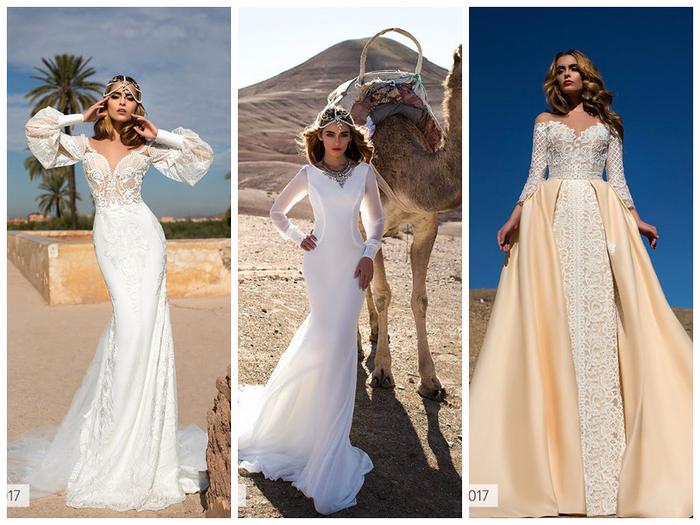 лучшие свадебные платья весна-лето 2017, топ на фото 7