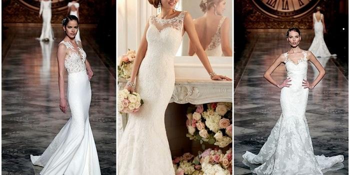 свадебное платье русалка 1