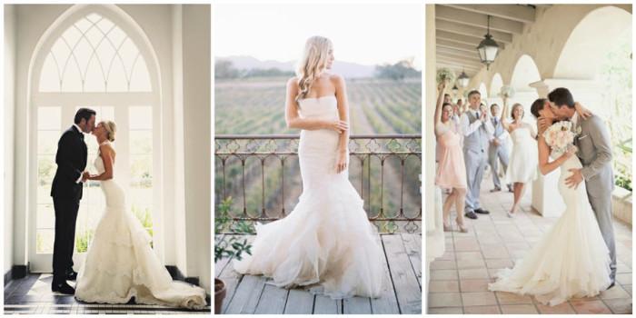 свадебное платье русалка 2