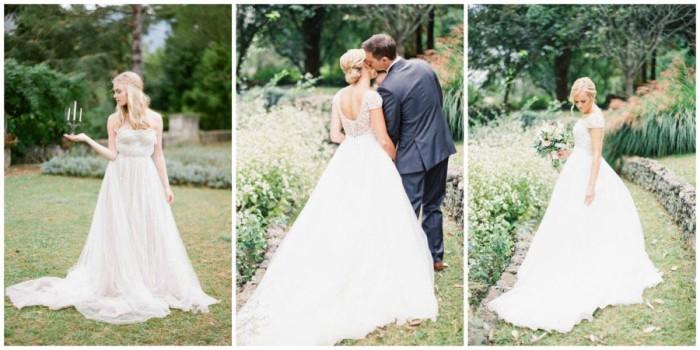 свадебное платье принцесса 2