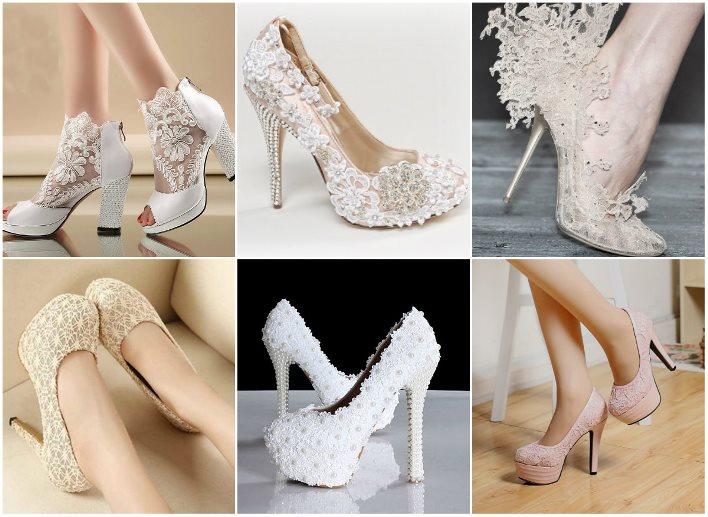 модные свадебные туфли весна-лето 2017, фото 1