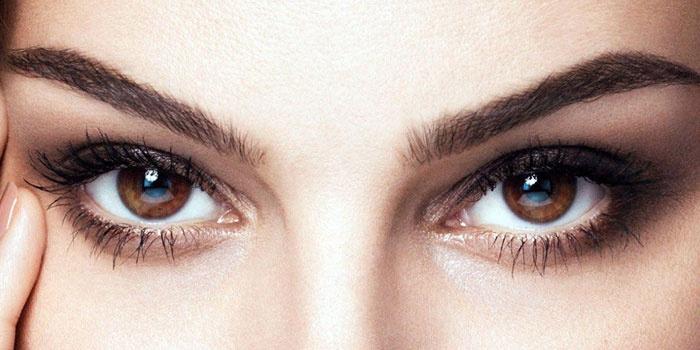 карие глаза 1