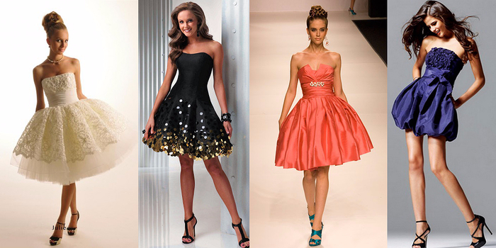 модные коктейльные платья с асимметрией 4