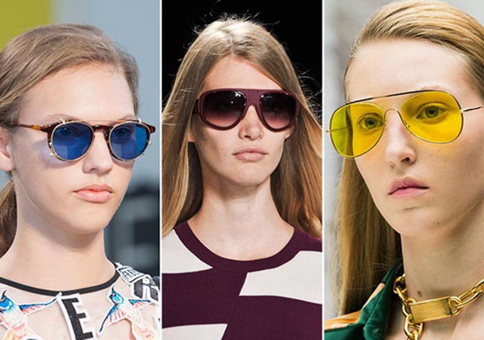 самые модные солнцезащитные очки весна-лето 2017, фото подборка и новинки 2