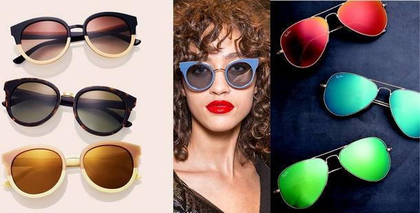 самые модные солнцезащитные очки весна-лето 2017, фото подборка и новинки 5