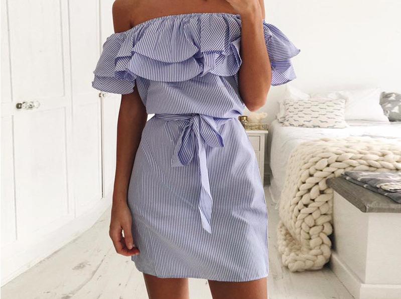 летние платья 5
