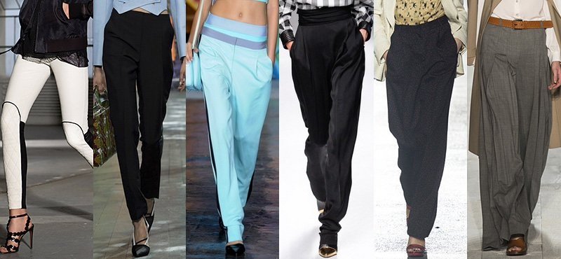 что модно носить летом 2017, брюки на фото 3
