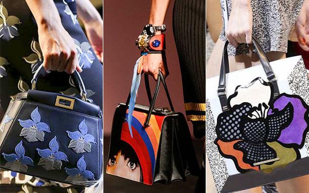 что модно носить летом 2017, сумки 2
