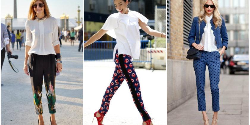 модные сеты с брюками, шортами и юбками лето 2017 1