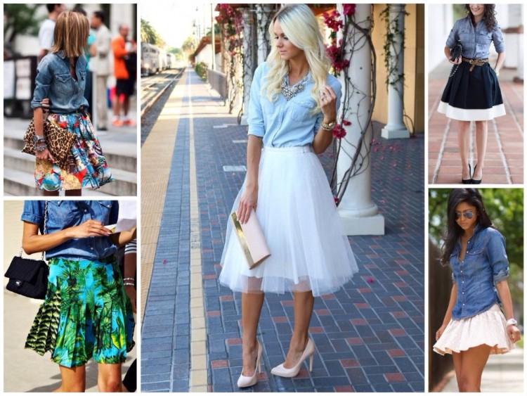 модные сеты с брюками, шортами и юбками лето 2017 6