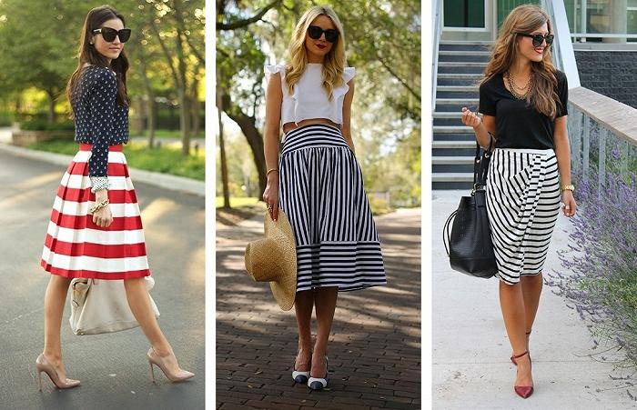 модные сеты с брюками, шортами и юбками лето 2017 7