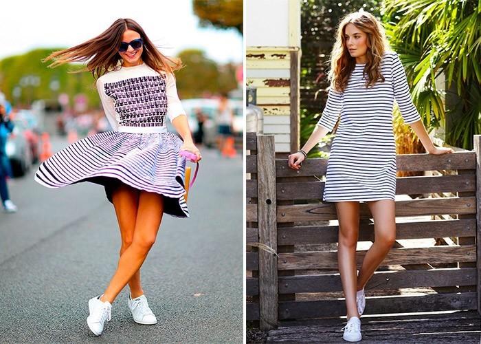 модные сеты с платьями лето 2017 года 3