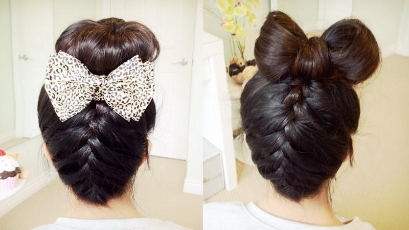 бант из волос 1