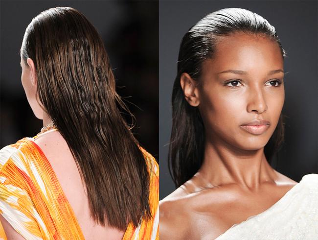 эффект мокрых волос 1