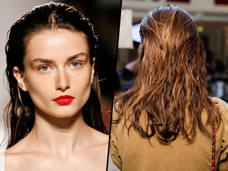 эффект мокрых волос 2