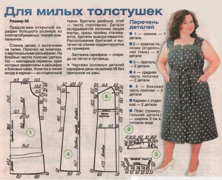 Сшить платье своими руками сарафан
