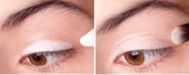 Фото 1. Светлые тени - залог удачного естественного дневного макияжа для карих глаз