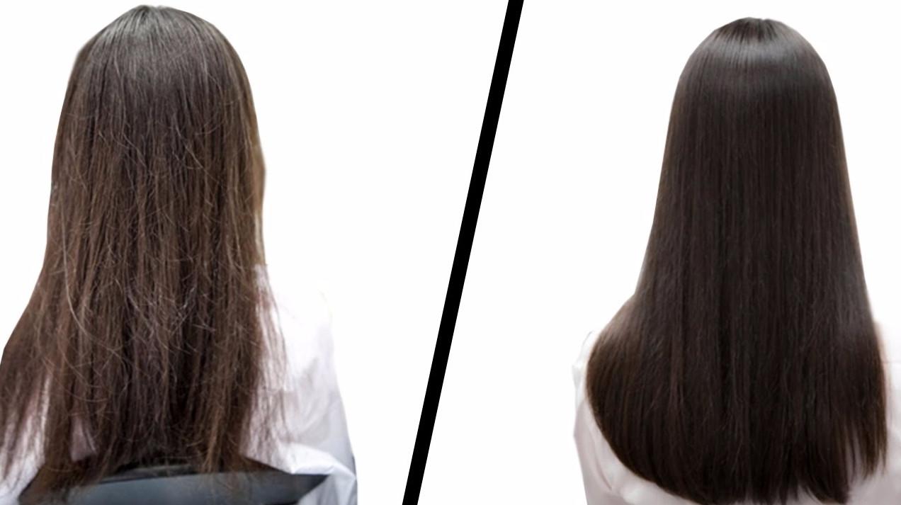 До и после холодной процедуры