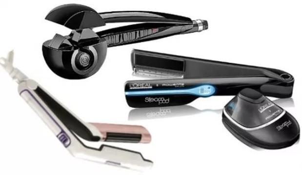 Главные параметры выбора стайлера – это щипцы, которым осуществляется захват волос. Они могут отличаться по разным характеристикам, однако наиболее важная для волюмайзера – материал, из которого щипцы выполнены.
