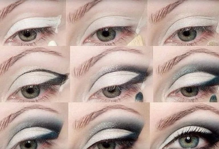 Макияж глаз на скорую руку