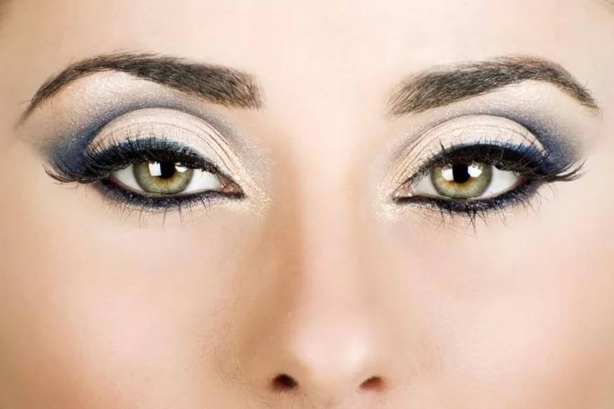 Фото макияжа для каре-зеленых глаз