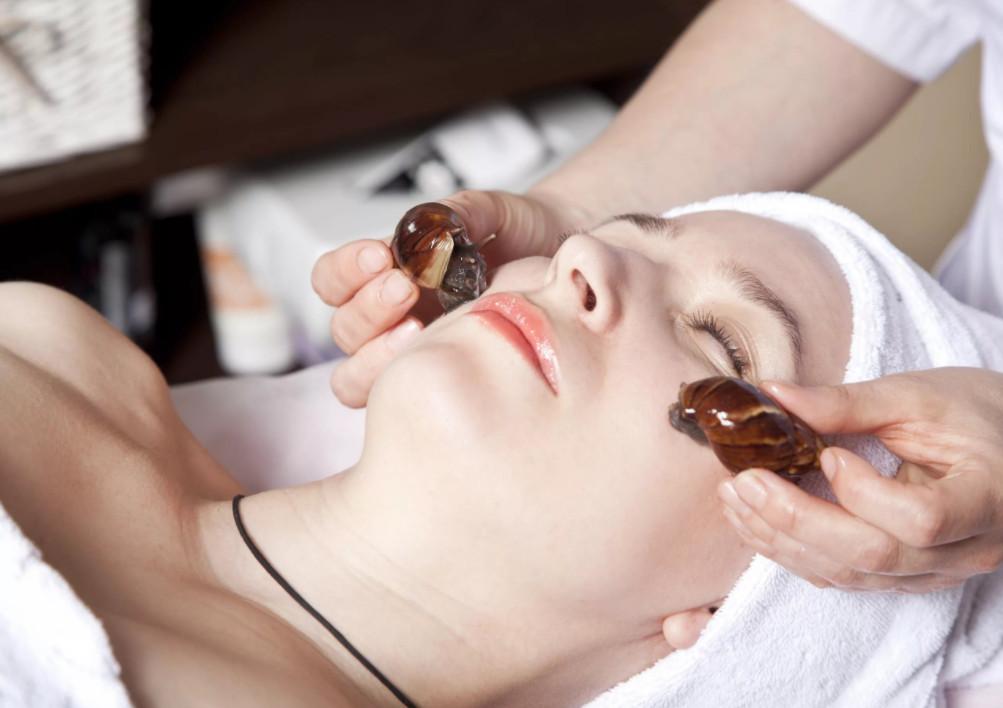 Отзывы тех, кто попробовал терапию улитками, говорят, что они оказывают положительное воздействие на кожу при угревой сыпи - обогащенная витаминами слизь помогает коже очиститься и заживить рубцы от угрей