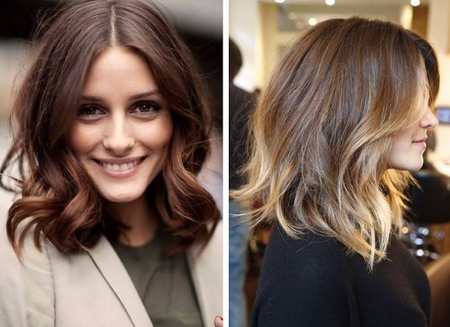 Фото до и после стробинга - эффект свежести на волосах