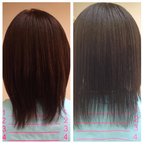 Заметный рост волос после процедуры