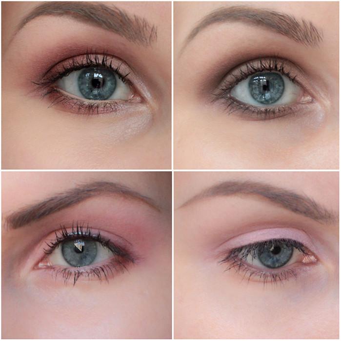 Оцените естественность глаз после нанесения тенейThe Blushed Nudes