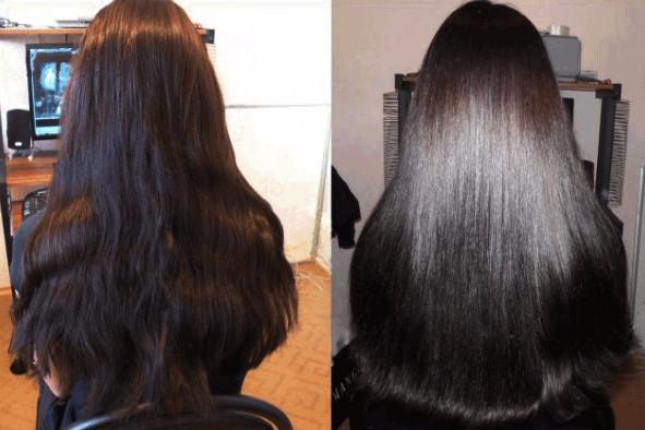 Длинные и густые волосы становятся послушными, блестящими и привлекательными, как у девушек на фото