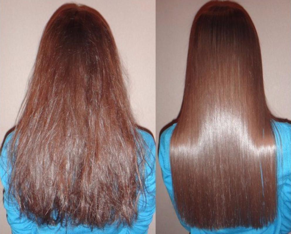 Длинные и здоровые волосы важно не испортить процедурой ламинирования маской с желатином в домашних условиях