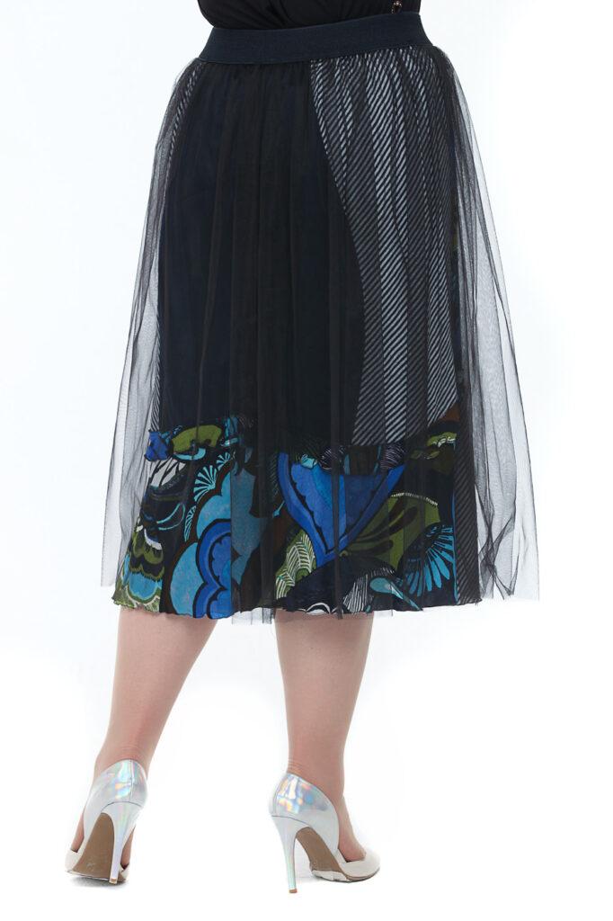 многофактурные юбки