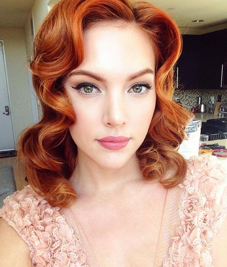 свадебный макияж для рыжих весна-лето 2021