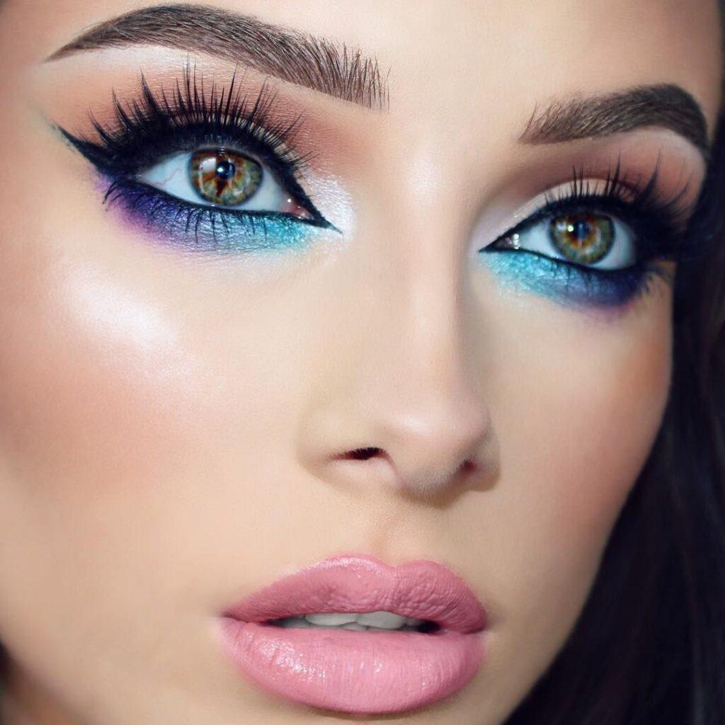 красивый макияж весна-лето 2021, модные тенденции и тренды на фото