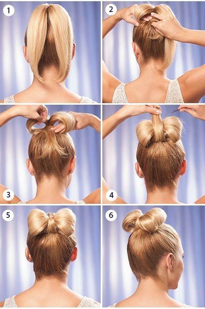 Бант из волос инструкция