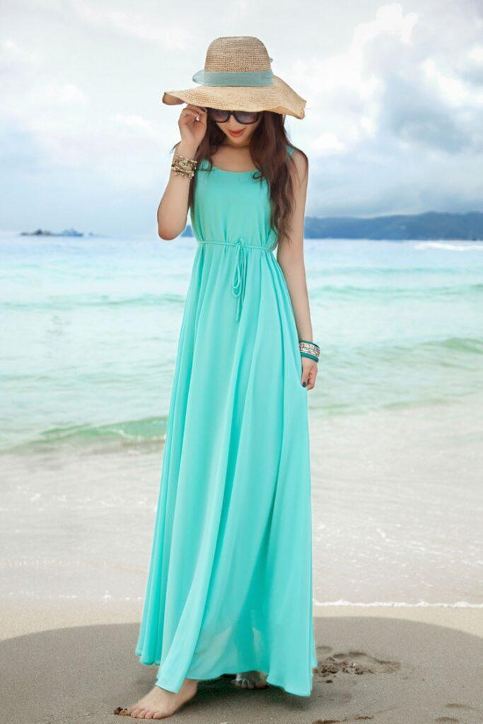красивые и модные летние платья 2021, фото 2