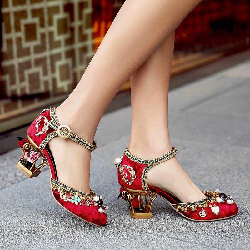 модные и красивые туфли в романтическом и ретро стилях 2