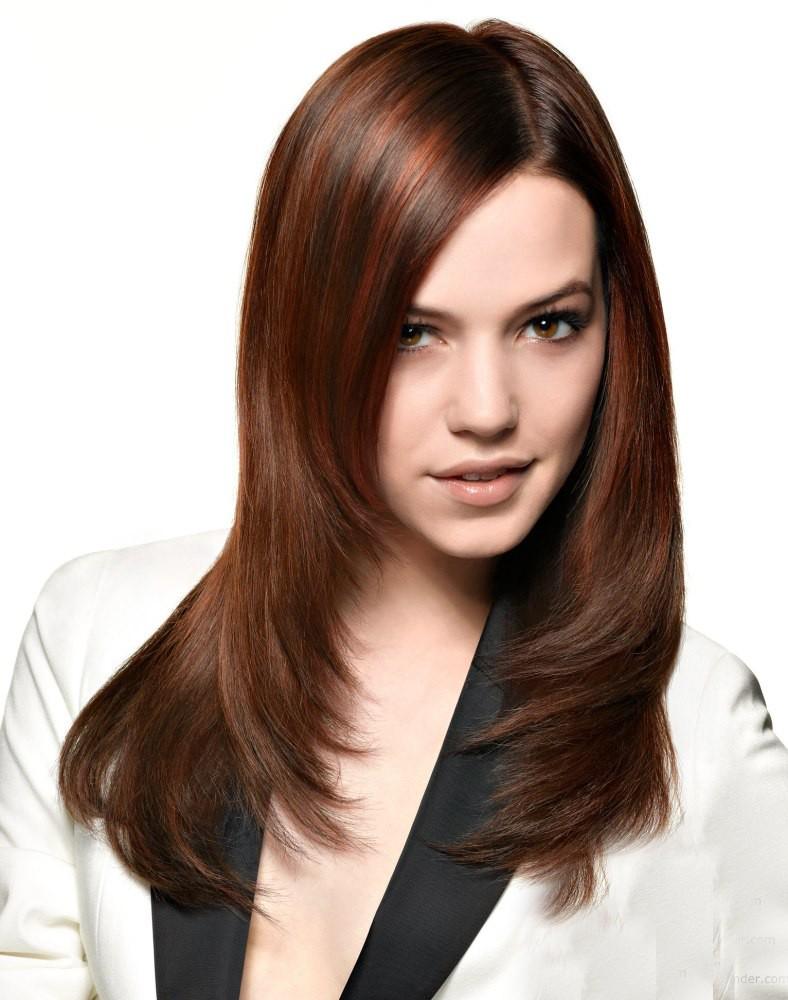 стрижка лесенка средняя длина волос