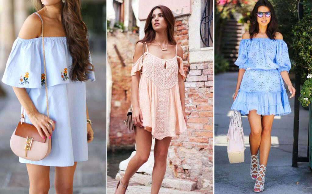 красивые и модные летние платья 2021, фото 4