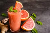 Коктейль с грейпфрутом для похудения