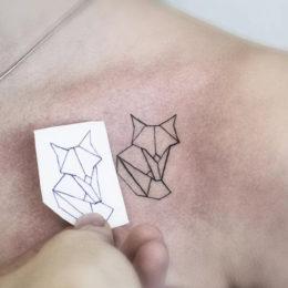 Эскизы тату в стиле Лайнворк