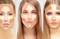 Контурный макияж лица с фото