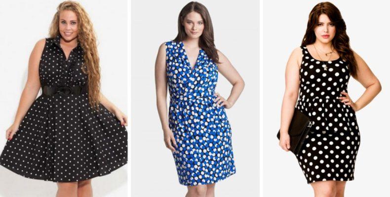 Фасоны и новинки летних платьев для полных женщин 2017