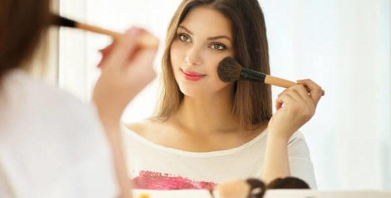 Правильный макияж лица
