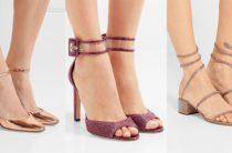 Модные босоножки весна-лето 2017, сандалии и шлепки на фото