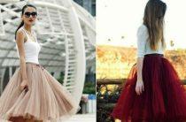 Модные юбки весна-лето 2017, фасоны на фото